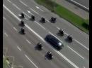Кортеж В.В. Путина на инаугурацию 2012