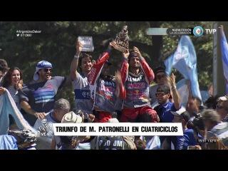 Rally Dakar 2016 - Etapa 13 - Cuatriciclos: Marcos y Alejandro Patronelli (Argentina)
