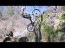 Cédric Tempier moto trial entraînement avec Jérome Delair