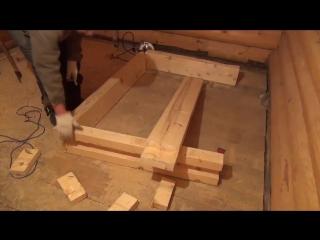 Как сделать оконный блок своими руками.