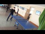 Выиграл ветерана тенниса