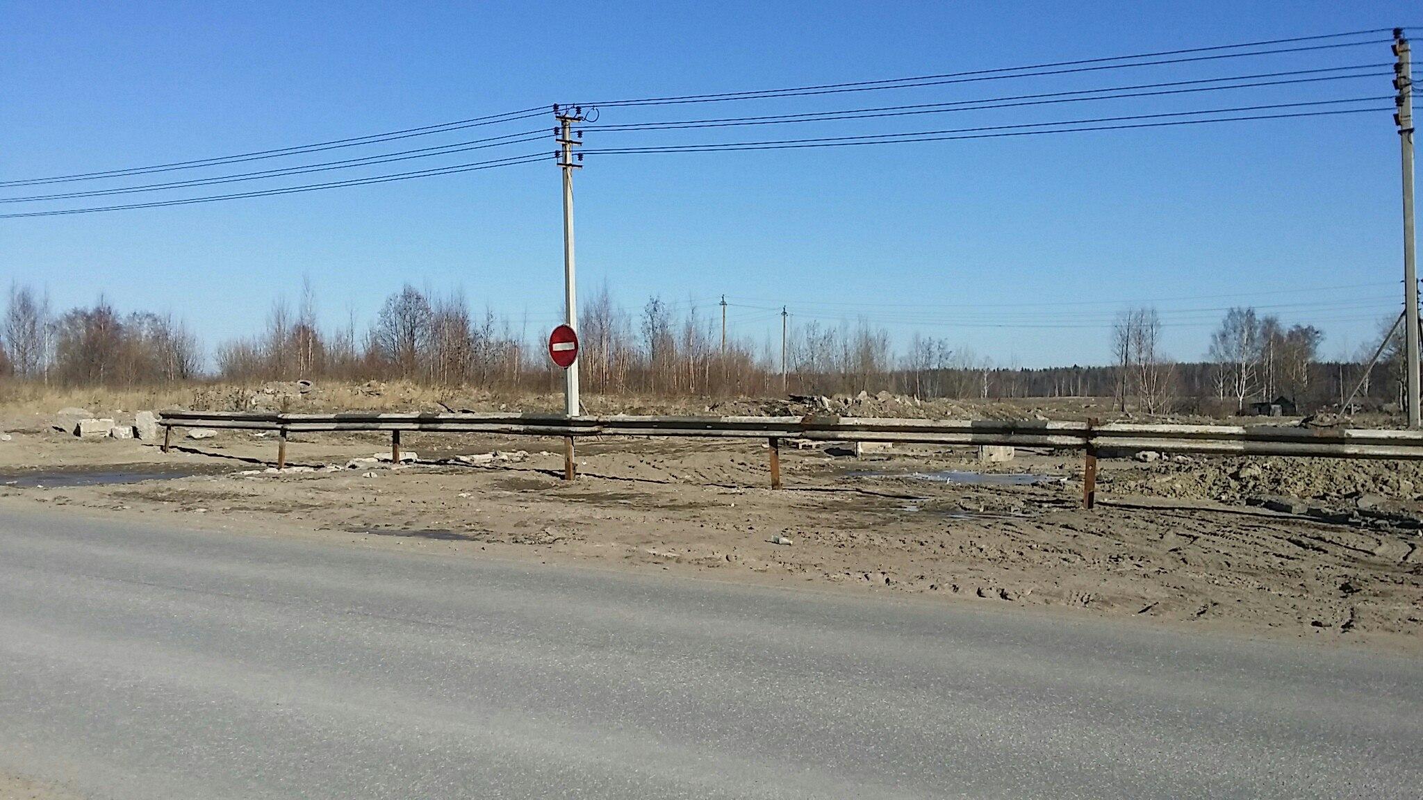 В поселок имени Свердлова продолжают нелегально свозить мусор