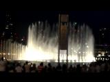 Поющие фонтаны в ОАЭ