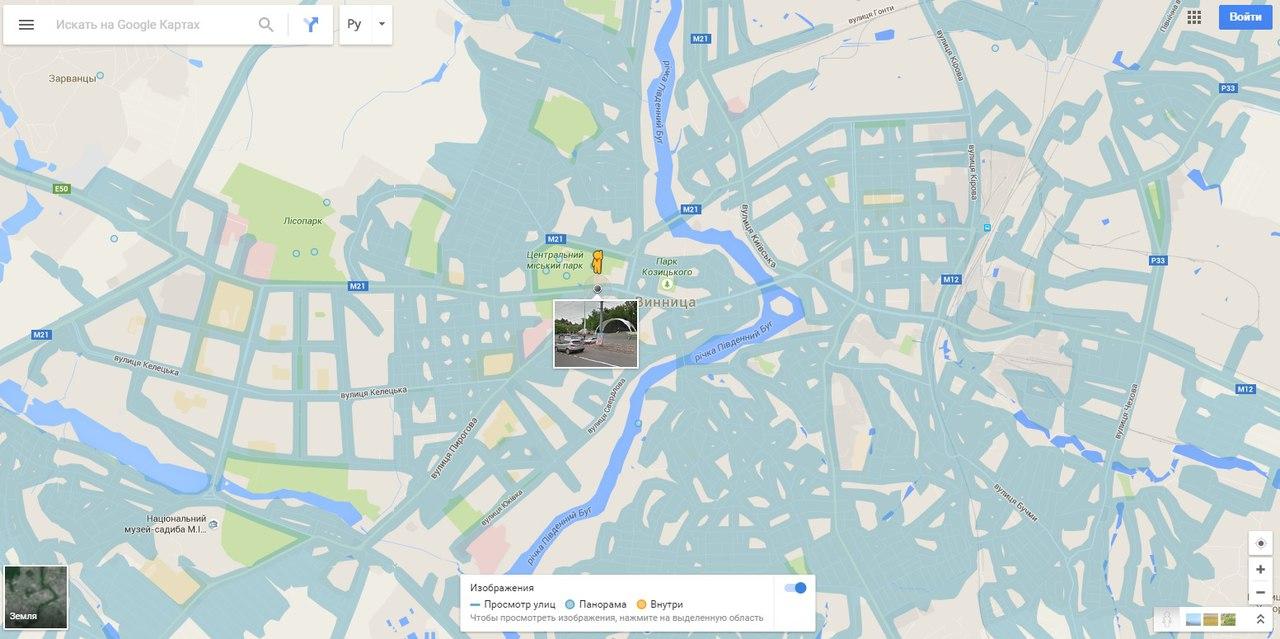 Maps панорама улиц