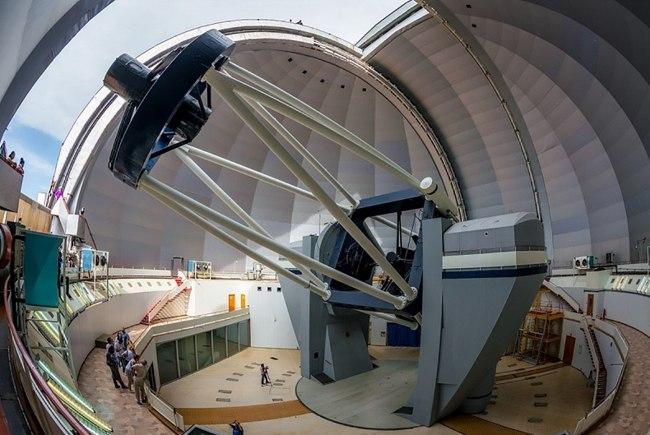 Для нового звездного спектрографа БТА в САО РАН изготовили внеосевые асферические зеркала
