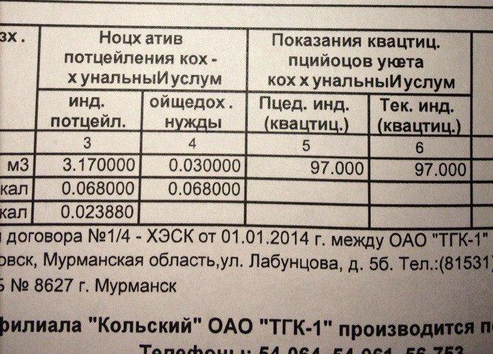 Жители Заполярья получили квитанции ЖКХ нанеизвестном науке языке