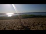 пляж.Диди .доченька