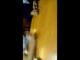 12- ти летние девчонки жгут по парте!!! PEN BEATS