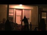 Жестокий розыгрыш   Маньяк с бензопилой   Прикол на Хэллоуин   Halloween 2013