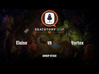 [RU] Eloise vs Vortex | SeatStory Cup IV | Group Stage