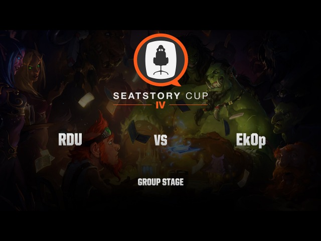 [RU] RDU vs Ek0p | SeatStory Cup IV | Group Stage