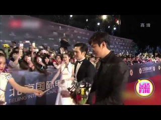 Lee Min Ho at Beijing International Film Festival Red Carpet 16.04.16