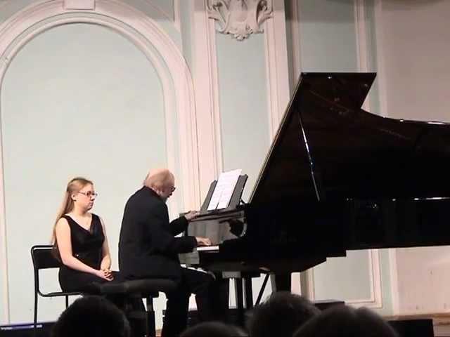 Ustvolskaya - Sonata No 6 by Lubimov / Уствольская - Соната No 6, Любимов
