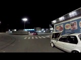 Two BMW E30 M50 turbo fooling around
