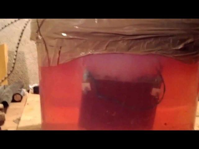 Электролизер, Взрыв водорода, газ Брауна.
