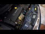 Замена прокладок маслоохладителя OPEL Astra, Zafira z16xer