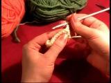 5 Урок Вязание крючком для начинающих. Столбики с накидом #knitting #crochet