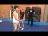Brenda Asnicar Entrenamiento Cumbia Ninja