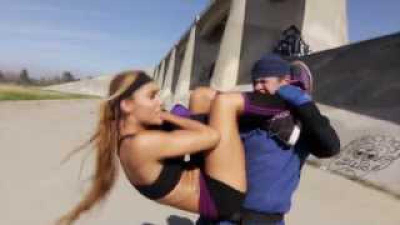 Kung Fu / MMA Girl vs Karate Guy   Martial Arts Action Scene