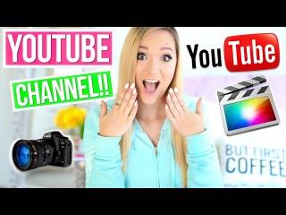 Как Развивать Свой Канал На YouTube -  AlishaMarie TranslatedUP!