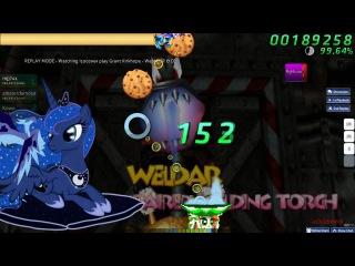 Walkthrough Osu (CTB) beatmap Grant Kirkhope - Weldaar [R & D] - (NC+HR)