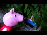 Играем в прятки с Джорджем и Свинкой Пеппой. Игры на природе. Маленкий озорник Джордж