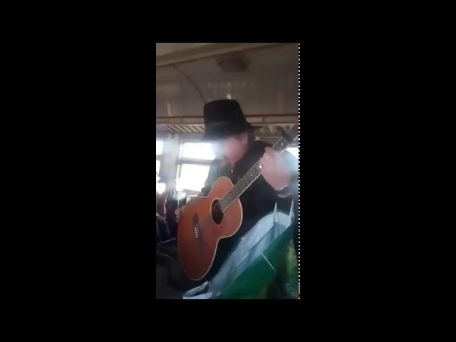 Хорошо поёт! Вокальный ТАЛАНТ в Харьковских Электричках! Харьков