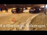 Последствия аварии на Ново-Садовой и Шверника (Volkswagen VS Kia) 22.02.2016