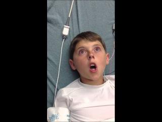 Hilarious Reaction to Anesthesia