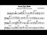 Paul Chambers Love For Sale