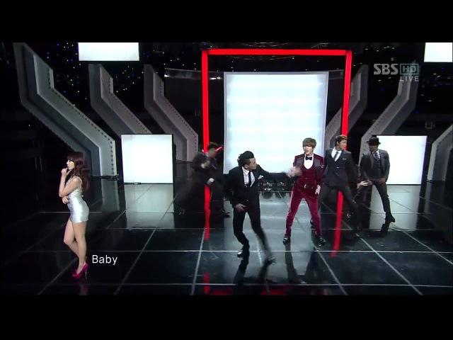Trouble Maker - Trouble Maker (트러블메이커) @SBS Inkigayo 인기가요 20111204