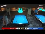 Imran Majid (GBR) - Ruslan Chinakhov (RUS). 9-ball. Quaterfinal. Barrage 9 Ball Open 2015