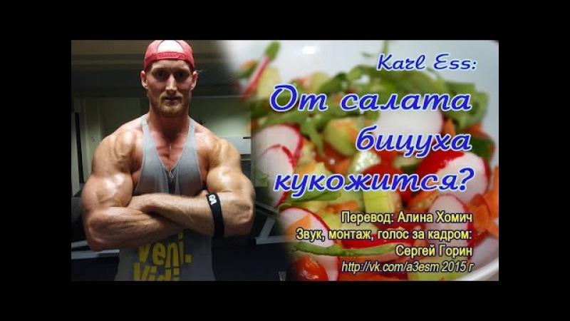 Карл Эсс От салата бицуха кукожится/Karl Ess