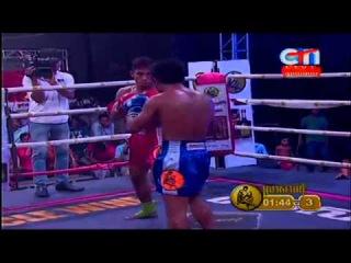 Khmer Boxing | Sorng Kung Vs Than Ravy | CTN Boxing 24-05-2015