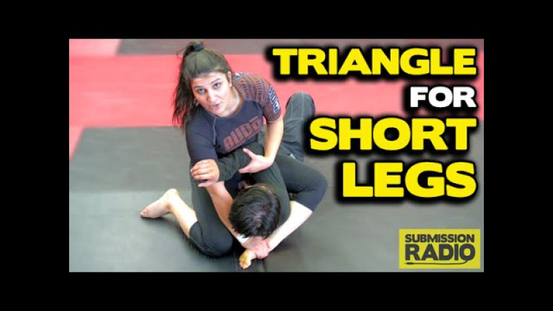 How to do a Triangle choke for people with short legs (S mount)