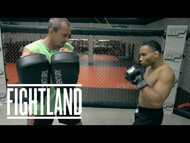The Switch Kick with Jon Dodson Fight School