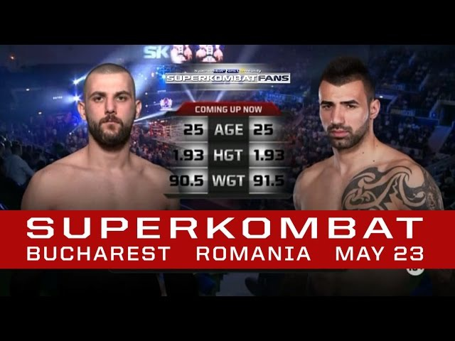 Bogdan Stoica vs. Ibrahim Giydirir - SUPERKOMBAT WGP Series | Bucharest | May 23