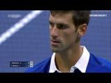 Roger Federer Vs Novak Djokovic  - US Open 2015 Final ( Highlights HD  )