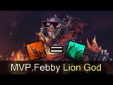 Lion God MVP.Febby vs OG — Dota 2
