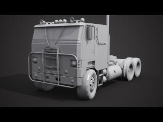 Моделирование грузовика в 3ds Max 1