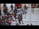 Криштиану Роналду , переодетый нищим на улицах Мадрида