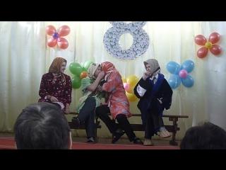 танец на 8 марта. (смотреть до конца) (1)