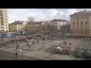 Североморск. Демонстрация трудящихся в День города