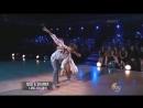 Nick Carter & Sharna Burgess dance the Contemporary Dance