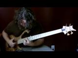 игра на бас гитаре - Aram Bedrosian