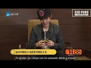 [SUB ESPAÑOL] Luhan @ Resolviendo el cubo de rubik Preguntas y Respuestas rápidas