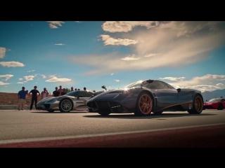 HYPER 5 - LaFerrari vs Porsche 918 vs McLaren P1 vs Bugatti Veyron Super Sport vs Pagani Huayra [BMIRussian]