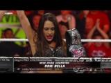 Eve vs. Brie Bella - Divas Championship BellaTwins