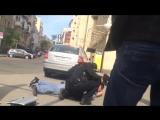 Киевская полиция против таксиста хама _ New Ukrainian police vs the taxi driver cad