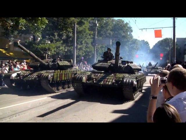 Парад военной техники в Тирасполе